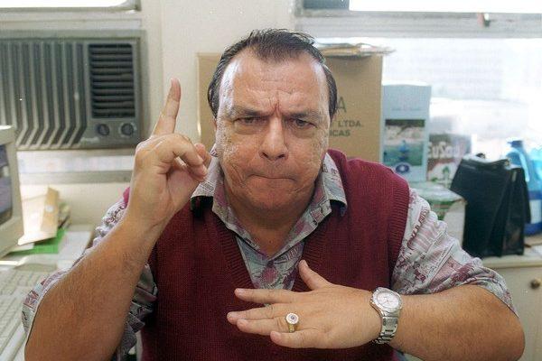 Gil Gomes em 2002 — Foto: Agliberto Lima/Estadão Conteúdo