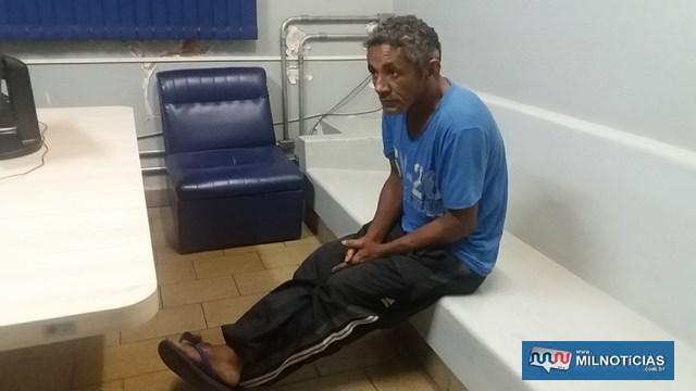 'Cabrobó' confessou crimes durante depoimento no 1º DP. Foto: MANOEL MESSIAS/Mil Noticias