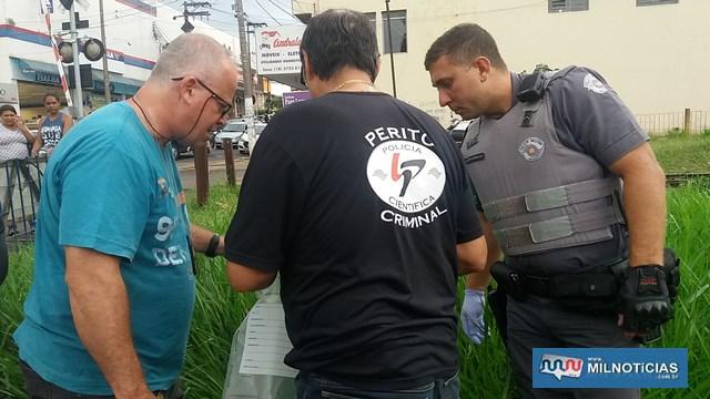 Perícia foi ao local dos fatos. Foto: MANOEL MESSIAS/Agência