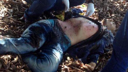 Bandido morre ao trocar tiros com Força Tática em Três Lagoas. (Foto: Divulgação/PM).