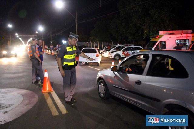 Um dos pontos de bloqueio foi na av. Guanabara. Foto: MANOEL MESSIAS/Mil Noticias