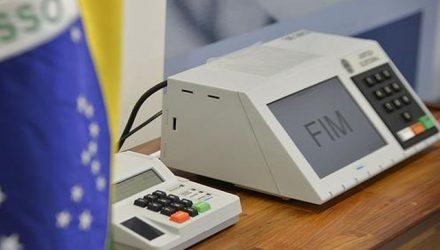 urna eletrônica, votação, eleição, eleições — Foto: José Cruz/Agência Brasil