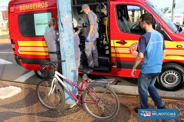 Piloto da moto sofreu escoriações mais graves no cotovelo e uma contusão no joelho, os dois do lado esquerdo. Foto: MANOEL MESSIAS/Agência
