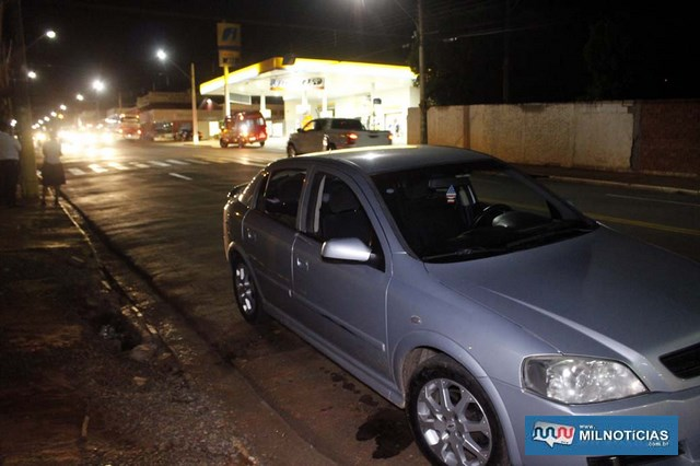 Acidente aconteceu no cruzamento da Av. Guanabara com rua Aquidauana, bairro Santo Antônio. Foto: MIL NOTICIAS/Agência