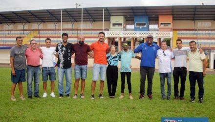 Tamiko faz anúncio da vinda da Copinha. Fotos: Secom/Prefeitura