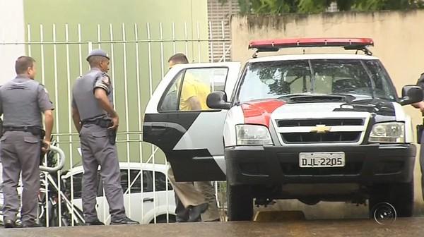 Vinícius Coradim alegou que tiro foi acidental — Foto: Reprodução/TV TEM