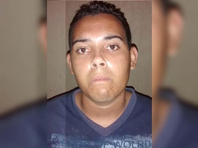 """""""Juninho Godoy"""" ou """"Gordinho"""" foi preso pela Polícia Civil. Foto: DIVULGAÇÃO"""