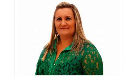 Viviane Vital tem mandato de prefeita cassado por desvio de dinheiro público em Magda (SP) — Foto: Reprodução/TV TEM