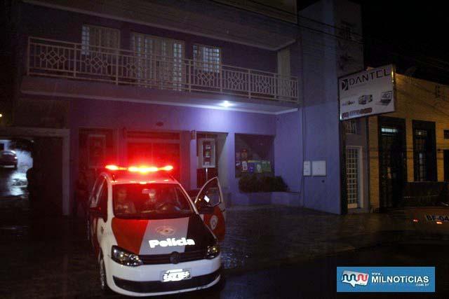 tragédia aconteceu nos fundos da Dantel, localizada na rua Alexandre Salomão, centro. Foto: MANOEL MESSIAS/Agência