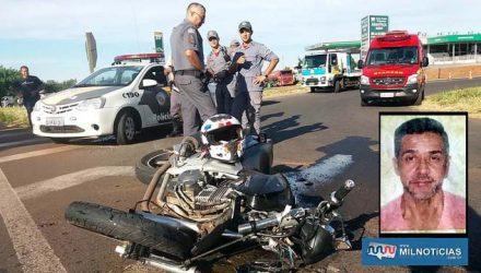Motocicleta Tweester CBX 250 teve a frente completamente destruída, além de entortamento do chassis. Foto: MANOEL MESSIAS/Agência