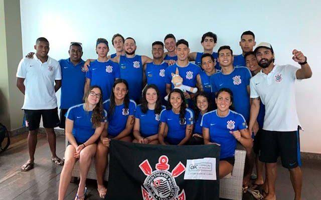 Delegação corintiana, com reforço da APAN que competiu em Salvador/BA. Foto: Divulgação