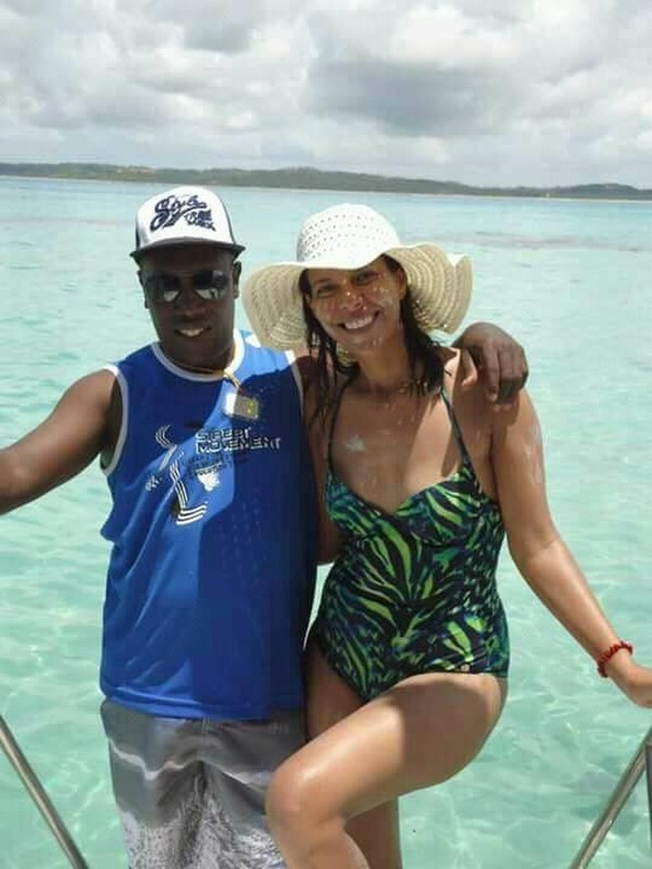 Ise Tomé cometeu suicídio após matar a ex-mulher, Marta Alves Martins, em Sinop — Foto: Facebook/Reprodução