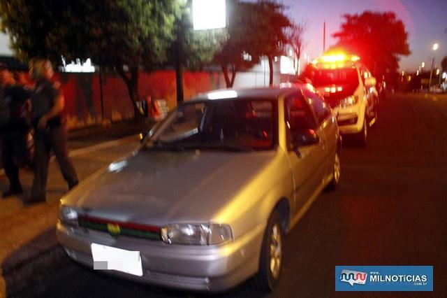 Veículo VW Gol usado pelo acusado para ir coletar a droga foi liberado, já que motorista não sabia do tráfico. Foto: MANOEL MESSIAS/Agência