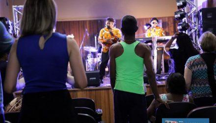 Vitrolla 70 animou o público no evento do dia 14. Fotos: Secom/Prefeitura