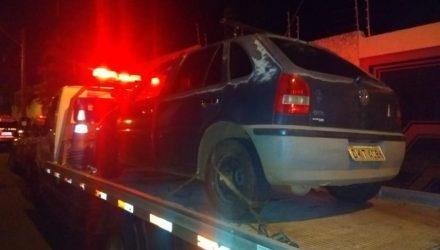 Carro foi encontrado pela Polícia Militar em Assis — Foto: The Brothers/Divulgação.