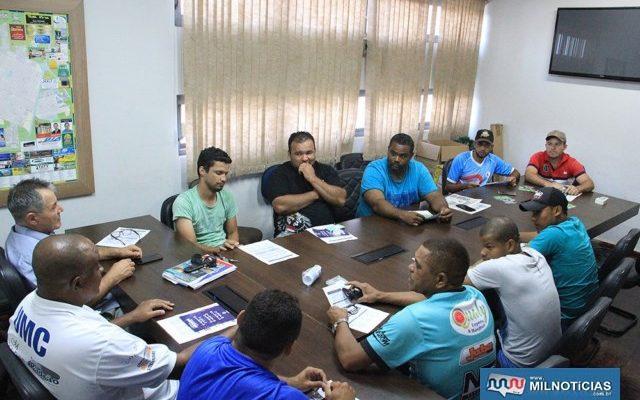 Reunião define jogos das oitavas para o segundo semestre de janeiro. Foto: Secom/Prefeitura