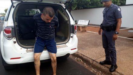 Desempregado foi preso acusado de descumprir medida protetiva de nãos e aproximar de sua mãe, portadora de câncer, Foto: MANOEL MESSIAS/Agência