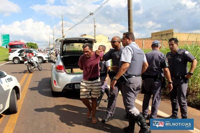 Paulo César Pereira, foi preso no dia em que  completou 44 anos. Foto: MANOEL MESSIAS/mIL nOTICIAS