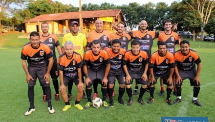 Equipe da Safira Sport foi a campeã do torneio interno do Guaporé. Foto: MANOEL MESSIAS/Mil Noticias