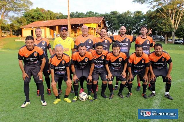 Equipe da Safira Sport foi a campeã do torneio interno do Guaporé. Foto: MANOEL MESSIAS/Mil Noticias