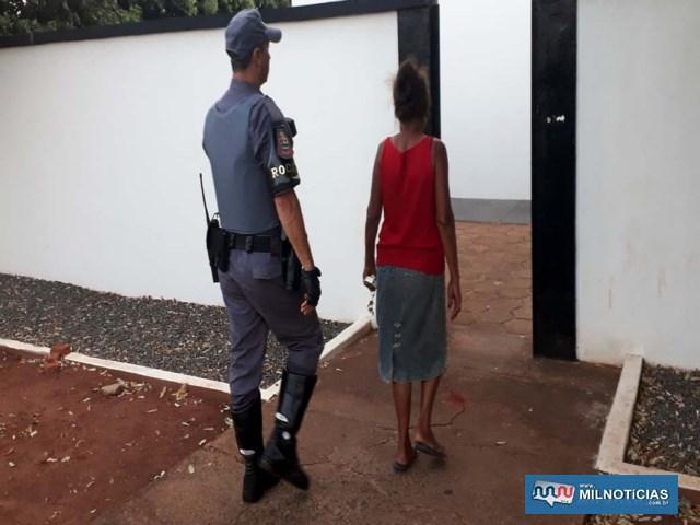 Mãe do acusado também foi indiciada pelos mesmos artigos e permaneceu na carceragem até audiência de custódia. Foto: MANOEL MESSIAS/Agência