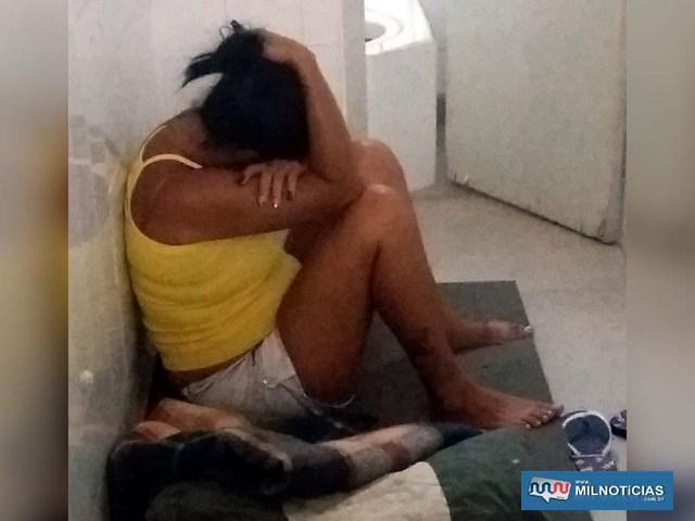 Pereirabarretense foi indiciada por tráfico de entorpecente e recolhida à cadeia de Lavínia. Foto: Manoel Messias/Agência
