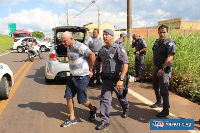 "Rodrigo Milani Piantino, o ""Conduíte"", 38 anos. Foto: MANOEL MESSIAS/Mil Noticias"