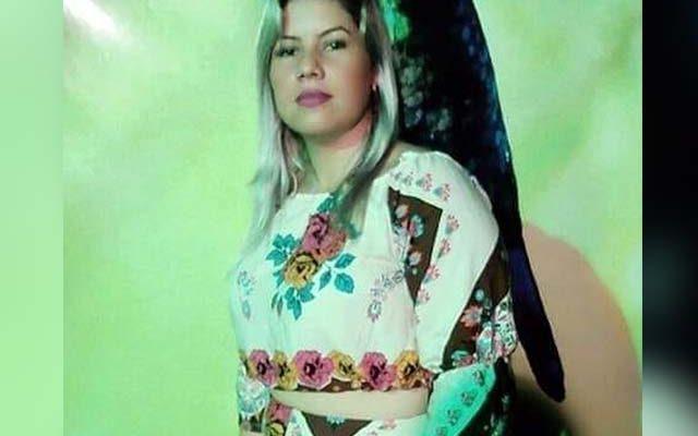 Suelen Karine Camilo, de 29 anos, foi golpeada em casa e teve traumatismo craniano. Foto: Reprodução