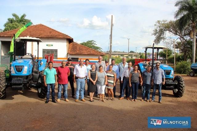 Equipamentos serão destinados aos Assentamentos Belo Monte e Josué de Castro, além da Secretaria de Agricultura. Foto: Secom/Prefeitura