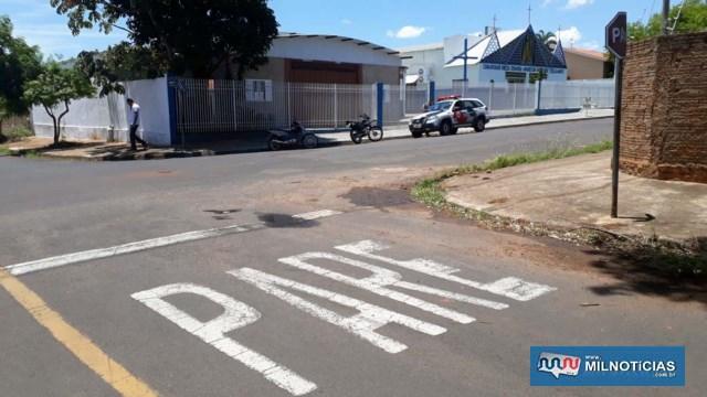 Vítima sofreu o acidente depois de não obedecer a sinalização de  trânsito e passar direto naquele cruzamento. Foto: MANOEL MESSIAS/Agência