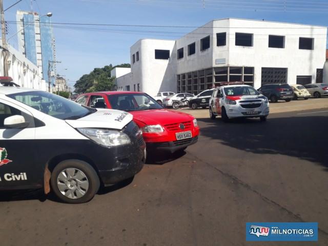 Acidente aconteceu no cruzamento da Av. Guanabara com rua Orensy Rodrigues Silva, Foto: MANOEL MESSIAS/Agência