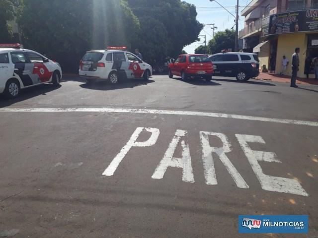 Motorista do Gol seguia pela Orensy e avançou sinalização de trânsito no solo, provocando o acidente , Foto: MANOEL MESSIAS/Agência
