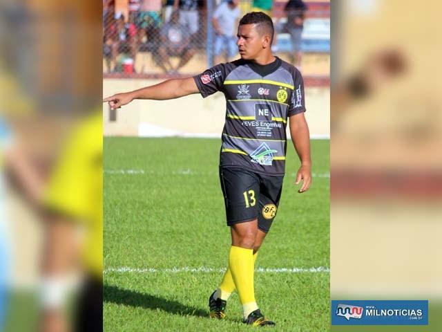Luciano, do Borussia, é o artilheiro do campeonato com 5 gols marcados. Foto: MANOEL MESSIAS/aGÊNCIA