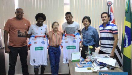 'Vagalume' e 'Neguega' foram destaques da Copa São Paulo de Futebol Júnior. Foto: Secom/Prefeitura