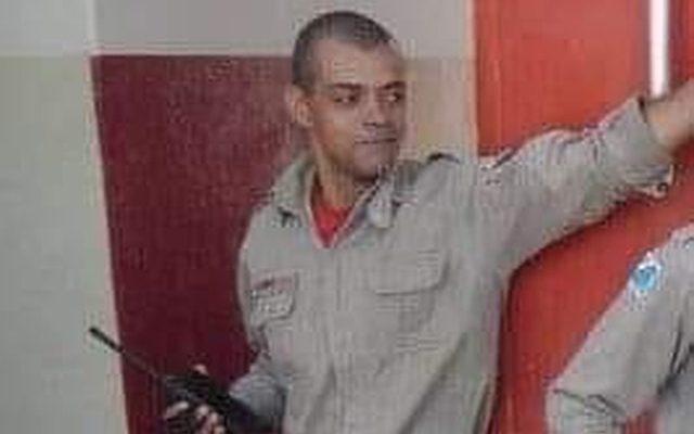 O Bombeiro Militar identificado como Edivaldo Alcides Benite. Foto: Arquivo Pessoal