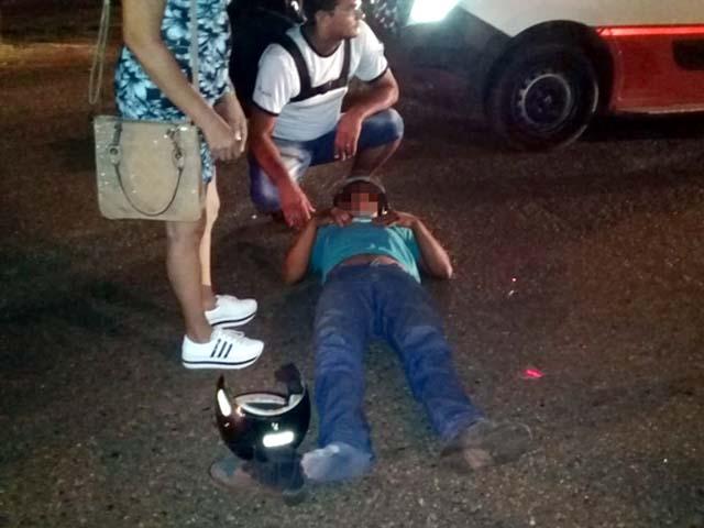 O autor confirmou aos policiais ter ingerido bebida alcoolica, mas se negou a fazer o teste do bafômetro. Foto: Rádio Cacula