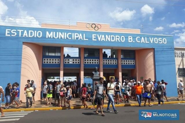 Estádio Municipal está sediando a Copa São Paulo de Futebol Junior. Foto: Albecyr Pedro