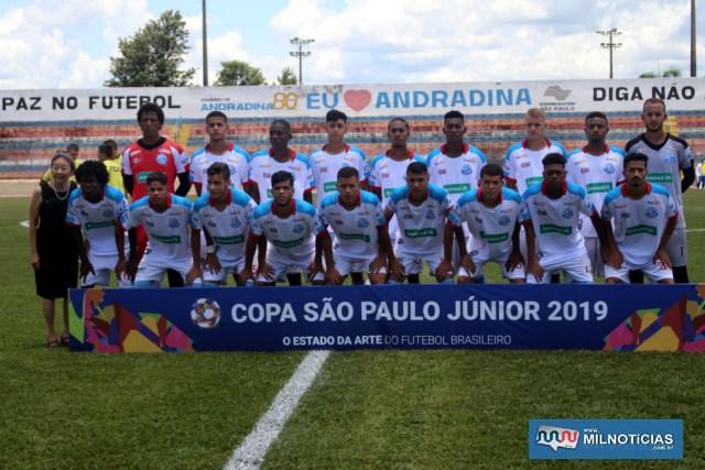 Andradina E. C. jogou bem na estreia da 'copinha'. Foto: MANOEL MESSIAS/Mil Noticias