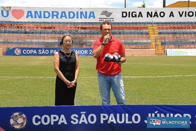 Sinval (dir.), é o maior goleador da Copinha com 12 gols em 1991. Record perdura por 28 anos.  Foto: Secom/Prefeitura