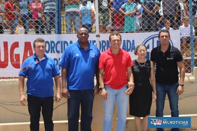 Autoridades políticas e militares durante abertura do grande evento esportivo. Foto: MANOEL MESSIASA/Mil Noticias