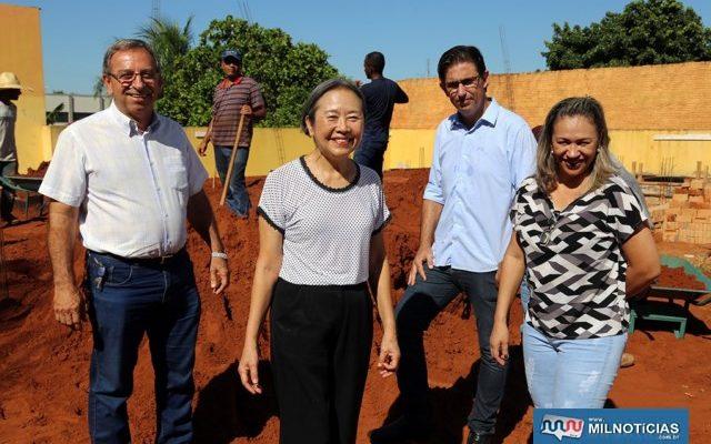 Reforma da escola Eulália Matos duplicará atendimento para as crianças de Andradina. Foto: Secom/Prefeitura