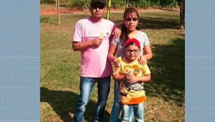 Corpos de família de bolivianos foram encontrados mutilados em malas em casa em Itaquaquecetuba — Foto: Reprodução/ TV Diário.