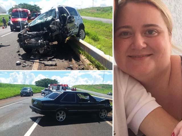 Fernandopolense Nádia Pezzati Zantedeschi, 38 anos, morreu no acidente. Foto: Regiaonoroeste.com