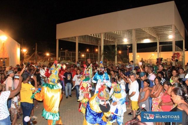 Folia de Reis foi realizada no último domingo, 13, na praça do CEU. Fotos: Secom/Prefeitura