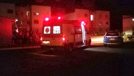 Quando a polícia chegou ao local, a equipe do Serviço de Atendimento Móvel de Urgência (SAMU) já estava presente e confirmou ausência de sinais vitais na vitima, atestando o óbito. Foto: Foto: Rádio Cacula
