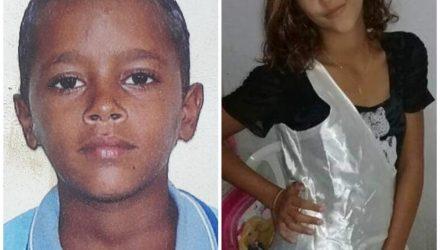 Menino de 11 anos e adolescente de 13 eram irmãos e foram mortos pelo padrasto — Foto: Reprodução/Arquivo pessoal.