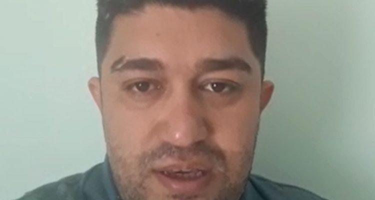 Pastor Pedro Teixeira gravou vídeo e o colocou nas redes sociais para se defender das acusações. Ele nega os crimes. — Foto: Reprodução/Redes sociais.