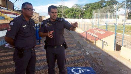 Baseado em Lei de segurança no estádio, Polícia Militar define regras para segurança de torcedores. Foto: Secom/Prefeitura