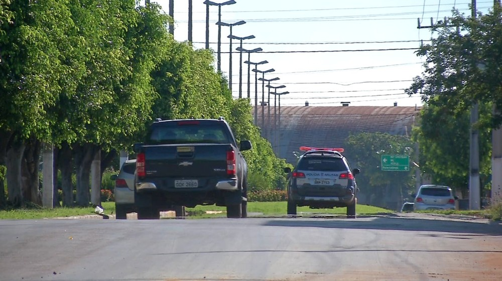 Crime ocorreu na Avenida Paraná, em Primavera do Leste — Foto: TVCA/Reprodução.