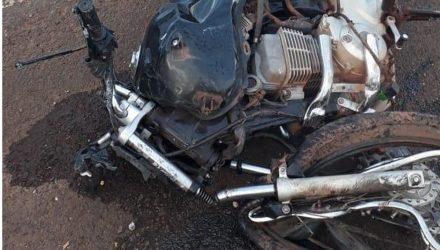 Policial Elson Lopes, de 55 anos, morreu ainda no local do acidente. — Foto: Polícia Civil.